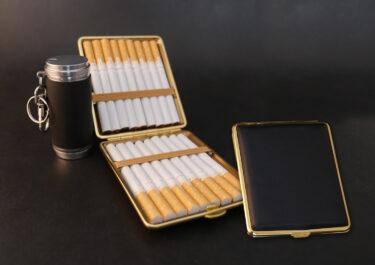 2月14日〜20日の景品|高級タバコケース&携帯灰皿セット