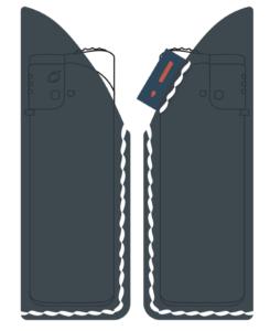 セーラー付きライターケース